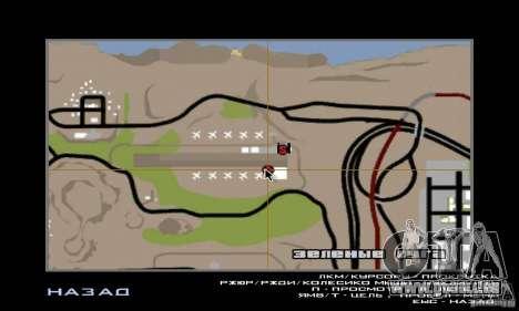 Guerre aérienne pour GTA San Andreas douzième écran