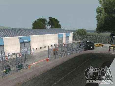 Das erste Taxi Park Version 1.0 für GTA San Andreas