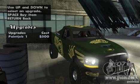 Dodge Power Wagon Paintjobs Pack 1 pour GTA San Andreas vue arrière