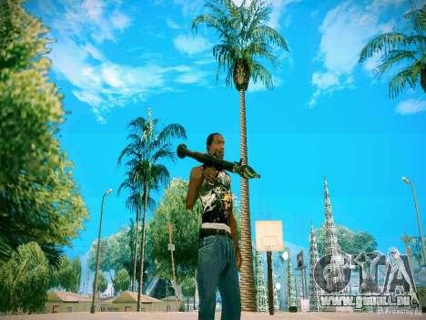 Armes Pack HD pour GTA San Andreas troisième écran