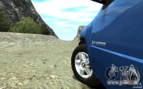Chevrolet Silverado 2008 für GTA 4 Rückansicht