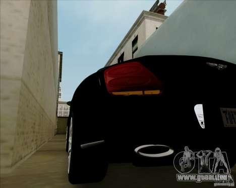 Bentley Continental GT V1.0 für GTA San Andreas Seitenansicht
