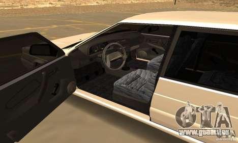 ВАЗ 2114 Dag Style pour GTA San Andreas vue arrière