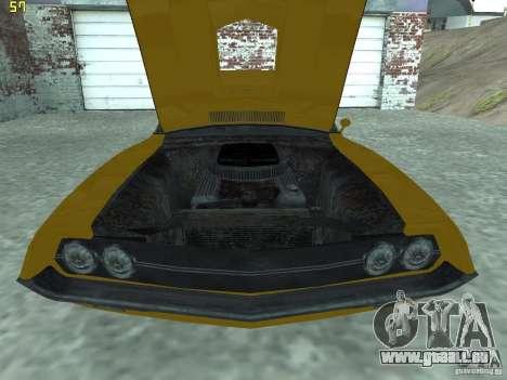 Ford Torino 70 pour GTA San Andreas vue de droite