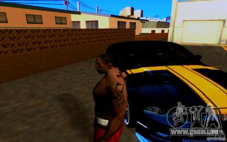 Slipknot tatoo für GTA San Andreas dritten Screenshot