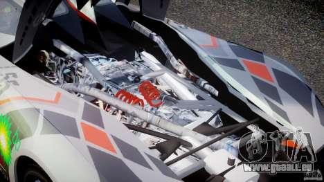 Mazda Furai Concept 2008 für GTA 4 Innenansicht