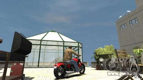 The Lost and Damned Bikes Nightblade für GTA 4 hinten links Ansicht