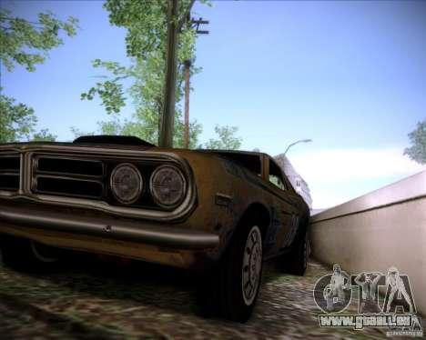 Pontiac Ventura 1971 pour GTA San Andreas vue intérieure