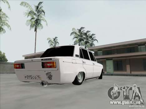 BPAN VAZ 2106 pour GTA San Andreas sur la vue arrière gauche
