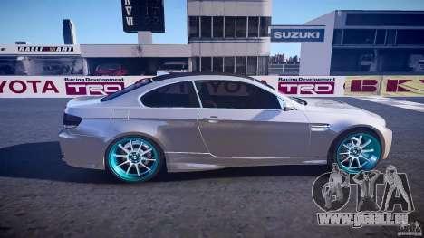 BMW E92 für GTA 4 Seitenansicht