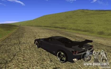 Ferrari Enzo ImVehFt pour GTA San Andreas sur la vue arrière gauche