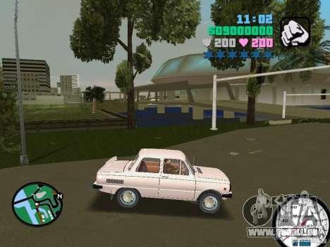 ZAZ 968 für GTA Vice City zurück linke Ansicht