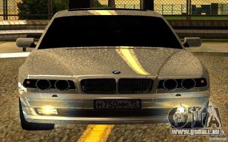 BMW 750iL E38 pour GTA San Andreas salon