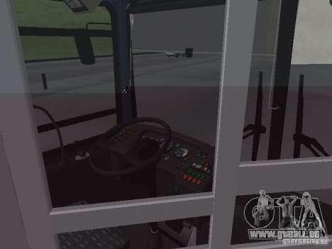 Autobus 6222 pour GTA San Andreas vue de dessus