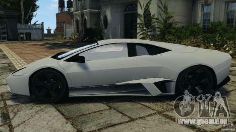Lamborghini Reventon 2008 v1.0 [EPM] für GTA 4 linke Ansicht