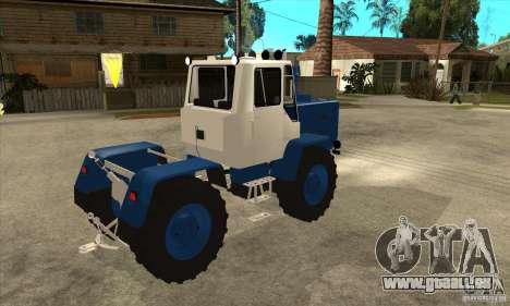 Traktor schneiden für GTA San Andreas rechten Ansicht
