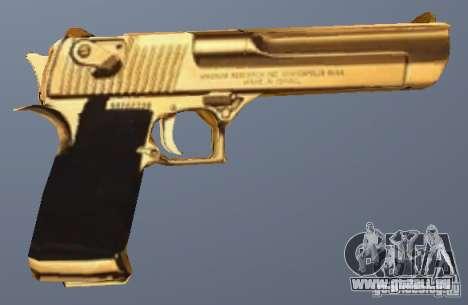 Golden Desert Eagle pour GTA San Andreas