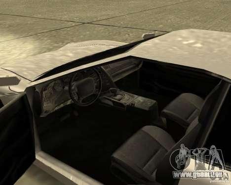 Azik Turismo pour GTA San Andreas vue de droite