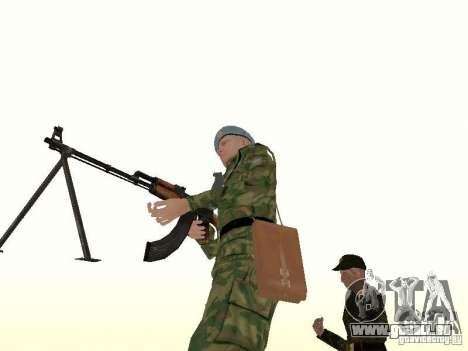 LE PKK pour GTA San Andreas deuxième écran