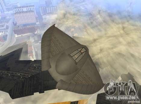 Death Glider für GTA San Andreas Innenansicht