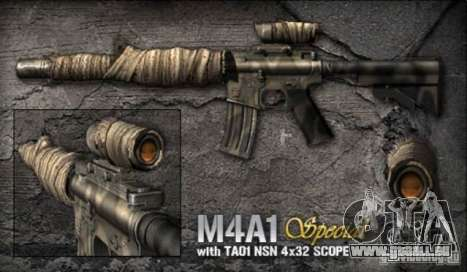 [Point Blank] M4A1 S pour GTA San Andreas