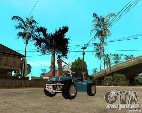 Volkswagen Dune Buggy für GTA San Andreas zurück linke Ansicht