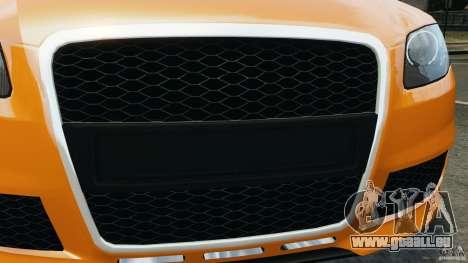 Audi RS4 EmreAKIN Edition pour GTA 4 est une vue de dessous