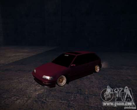 Honda Civic EF9 Hatch Stock pour GTA San Andreas