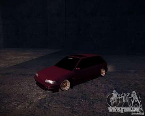 Honda Civic EF9 Hatch Stock für GTA San Andreas