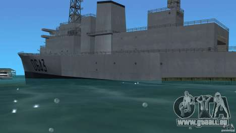 Fregate F70 ASM für GTA Vice City linke Ansicht