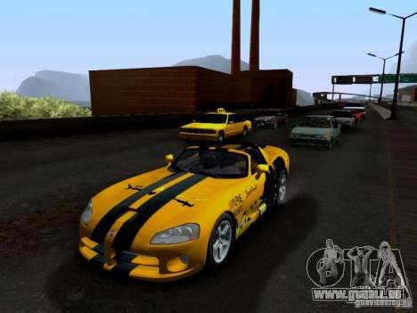 Dodge Viper SRT-10 Custom für GTA San Andreas Innen