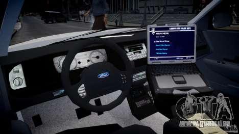 Ford Crown Victoria CVPI-V2.5V für GTA 4 rechte Ansicht