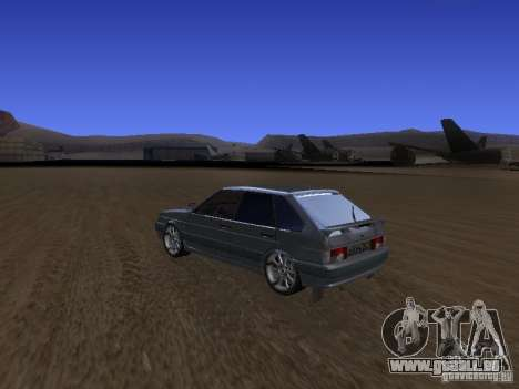 ВАЗ 2114 Tuning pour GTA San Andreas laissé vue