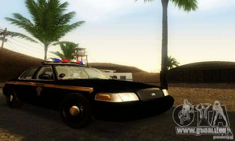 Ford Crown Victoria Montana Police pour GTA San Andreas