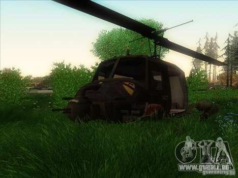 Huey Hubschrauber von Call of Duty black ops für GTA San Andreas