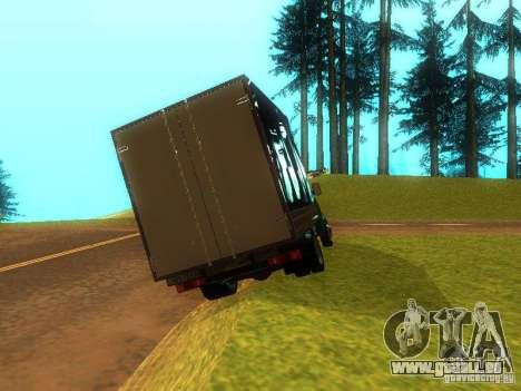 Gazelle 33021 für GTA San Andreas rechten Ansicht