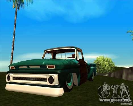 Chevrolet C10 Rat Rod pour GTA San Andreas vue arrière