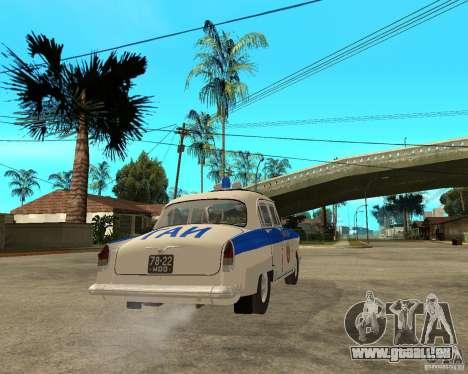 Gaz-21r GAI pour GTA San Andreas vue de droite