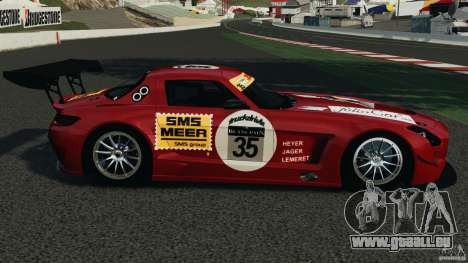 Mercedes-Benz SLS AMG GT3 2011 v1.0 für GTA 4 linke Ansicht