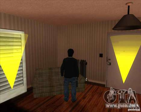 Sashka gypaète barbu pour GTA San Andreas deuxième écran