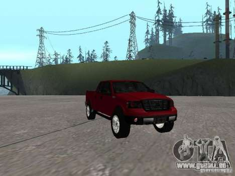 Ford F-150 2005 für GTA San Andreas Rückansicht