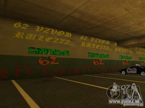 Corps de cadets de Krasnoïarsk pour GTA San Andreas sixième écran