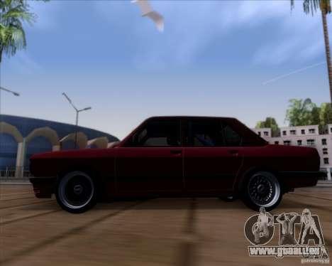 BMW 5-er E28 pour GTA San Andreas laissé vue