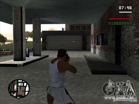 I AM Legend M4A1 für GTA San Andreas dritten Screenshot