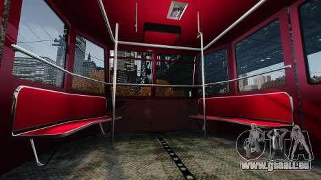 Assise supérieure dans l'ascenseur pour GTA 4 troisième écran