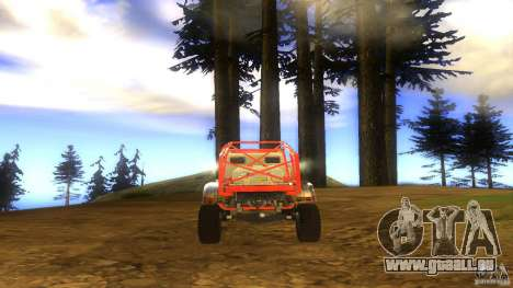 Insane 2 pour GTA San Andreas vue arrière
