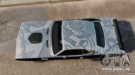 Plymouth Cuda 1971 [EPM] Mopar für GTA 4 rechte Ansicht