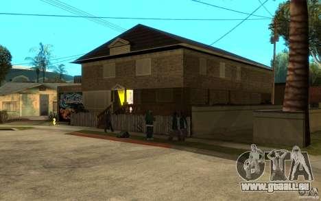 New great cjs house pour GTA San Andreas deuxième écran