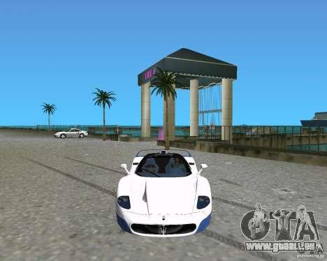 Maserati MC12 pour une vue GTA Vice City de la gauche