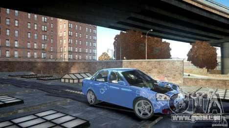 Lada Priora Light Tuning pour GTA 4 est une gauche